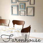 Budget-Friendly Farmhouse Gallery Wall