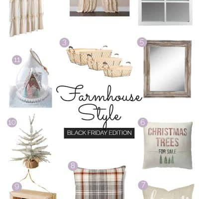 | Farmhouse Style | Black Friday Online Deals