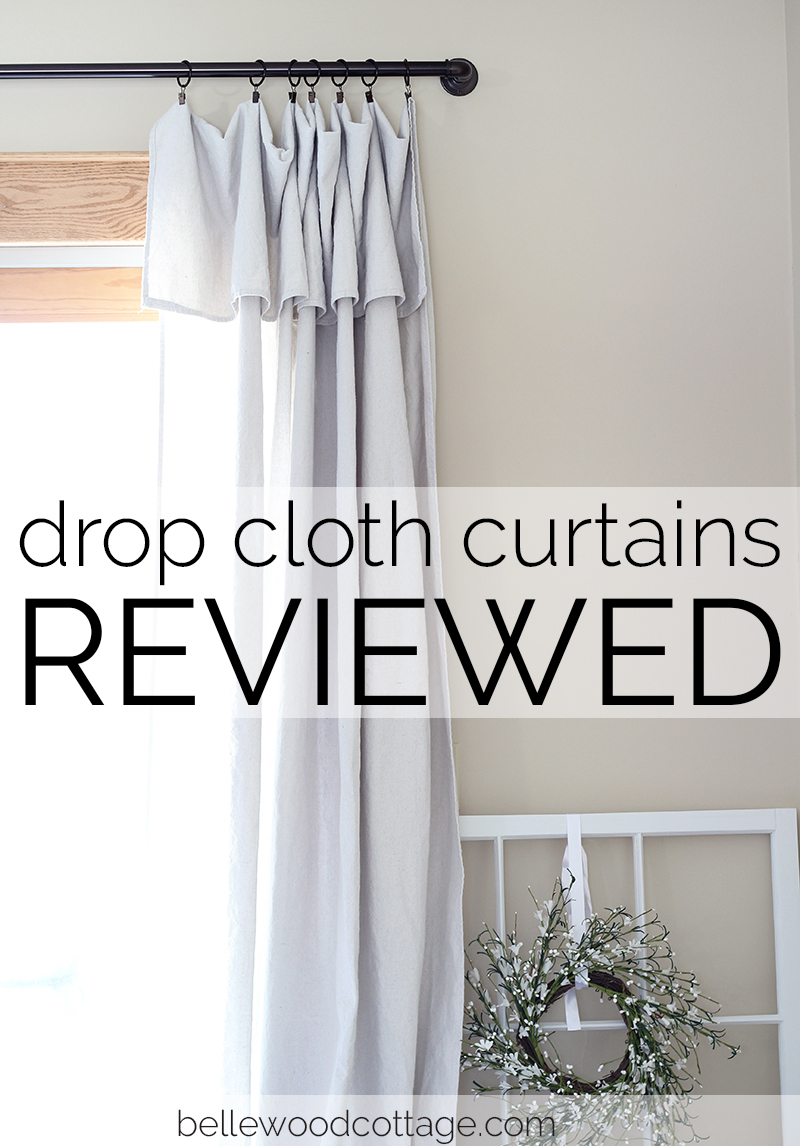 Drop Cloth Curtains – Reviewed | Part 1 |