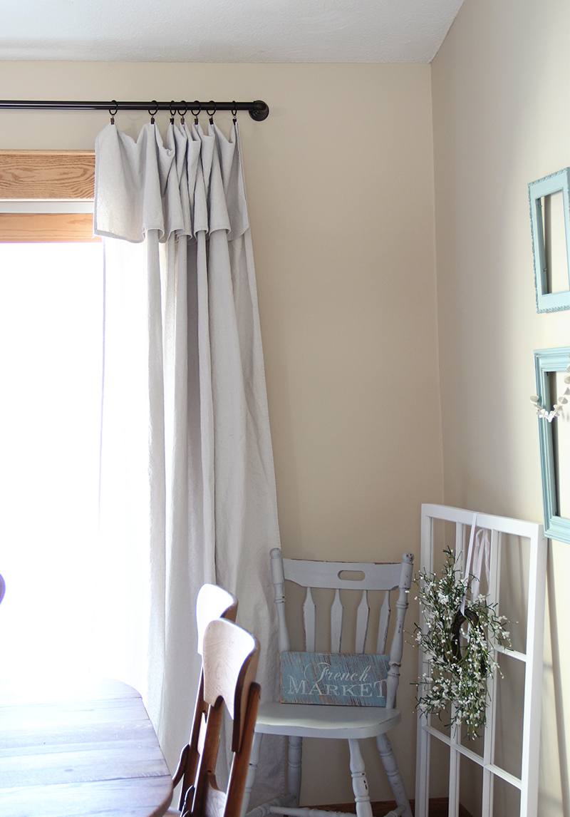 Drop Cloth Curtains – Reviewed   Part 2  