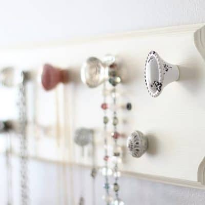 Make Your Own Necklace Organizer