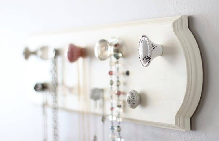 Make Your Own DIY Necklace Organizer