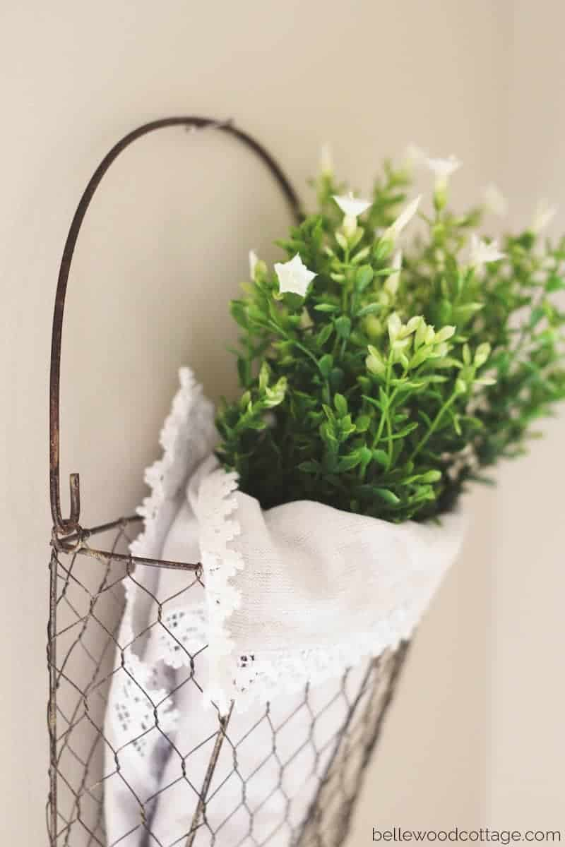 Diy Spring Wall Decor : Easy wall decor diy for spring bellewood cottage