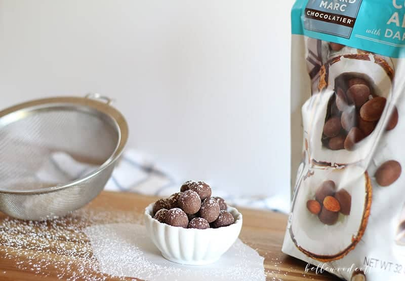Friday Favorites - coconut truffles from Costco