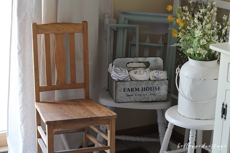 country antique chair