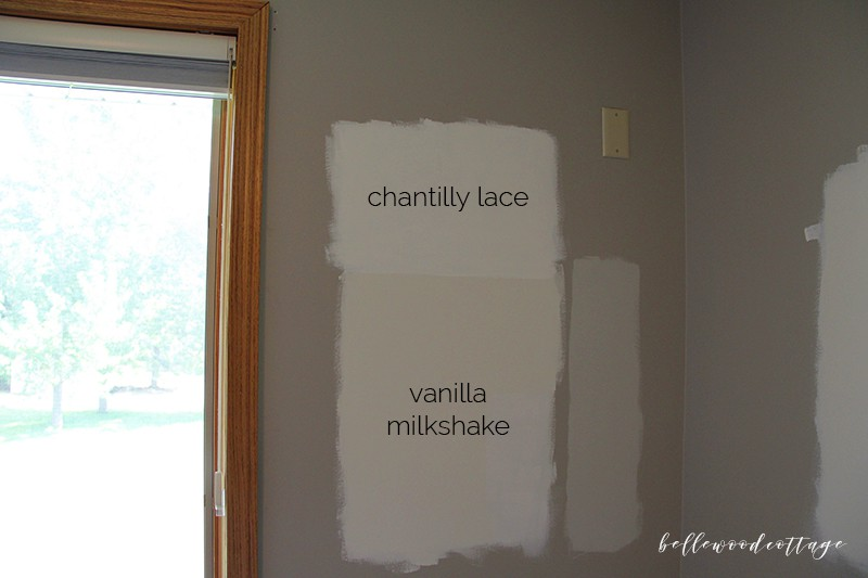 chantilly lace v. vanilla milkshake
