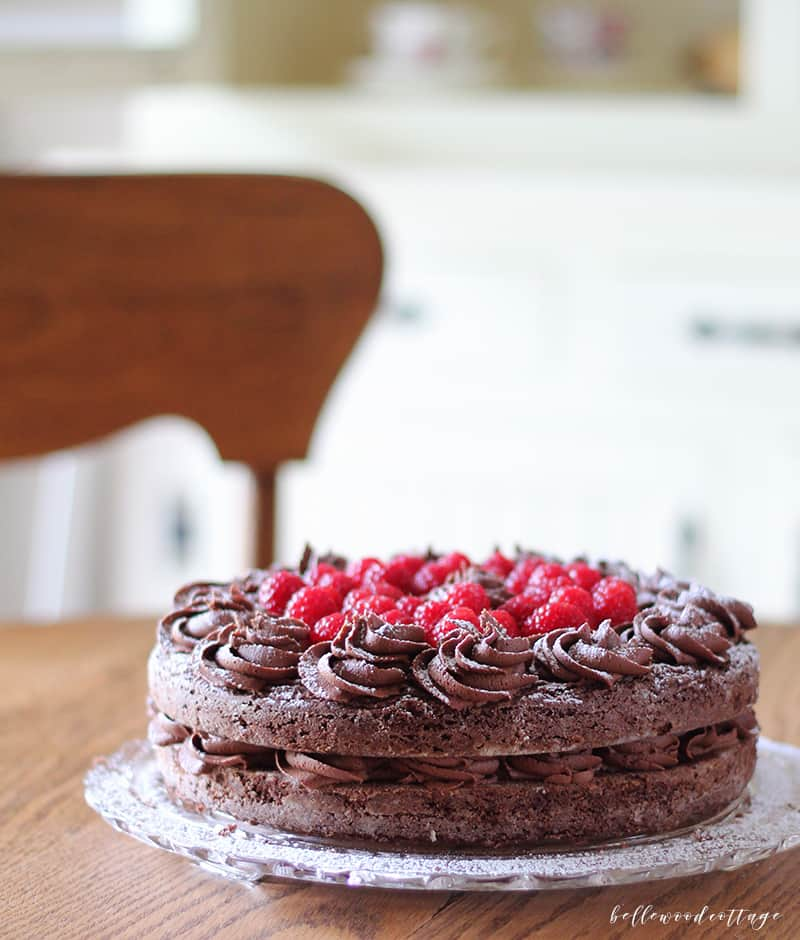 Gluten Free Chocolate Brownie Fudge Cake - Recipe