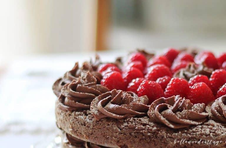 Gluten Free Chocolate Brownie Fudge Cake