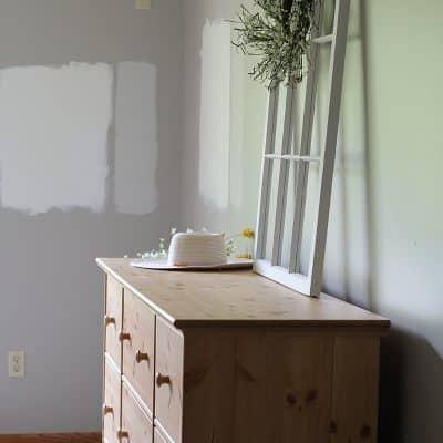 master bedroom update - before photo