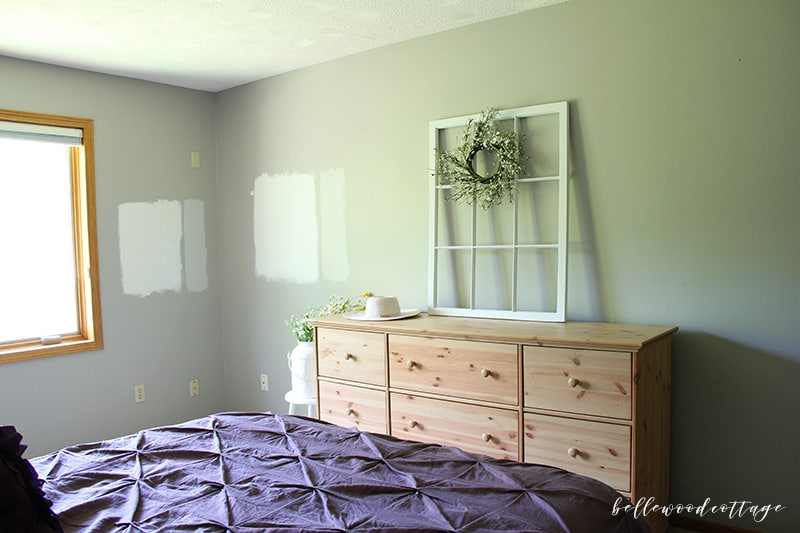 master bedroom update - before photo