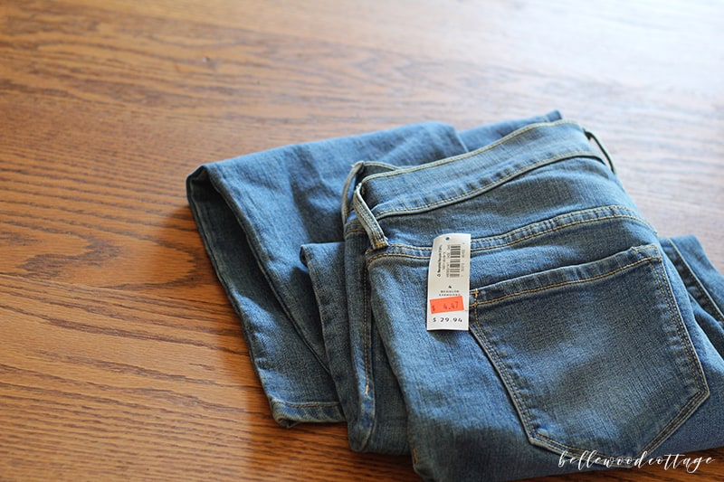 great deal on jeans from Old Navy