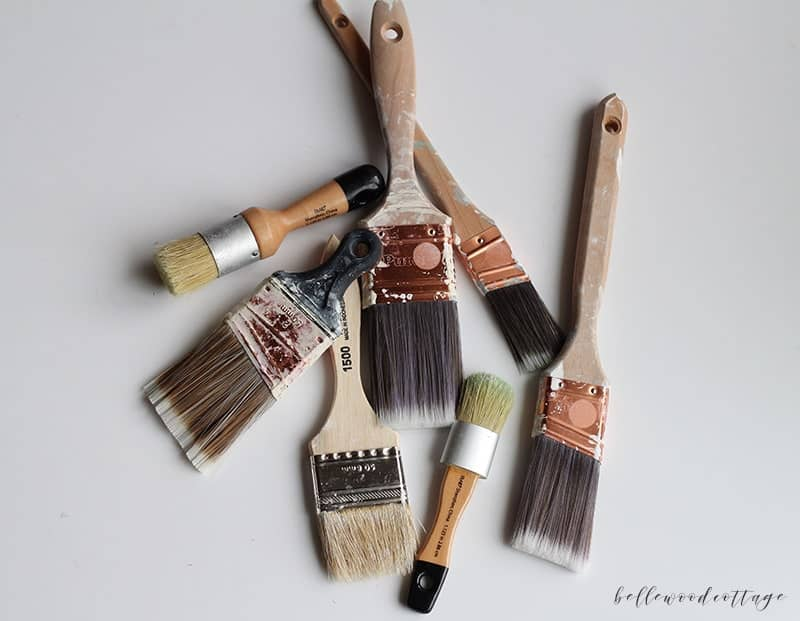 What is the best brush to use for painting furniture?