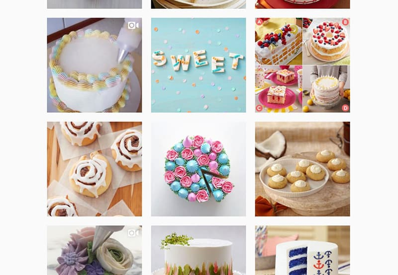 wilton cake decorating instagram