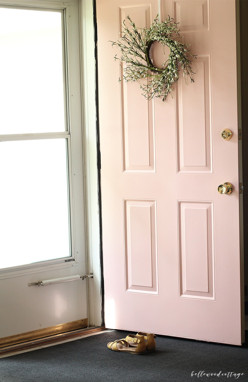 Pink Front Door You Know Are About To Make A Gutsy Painting Choice When The Guy At Paint Asks