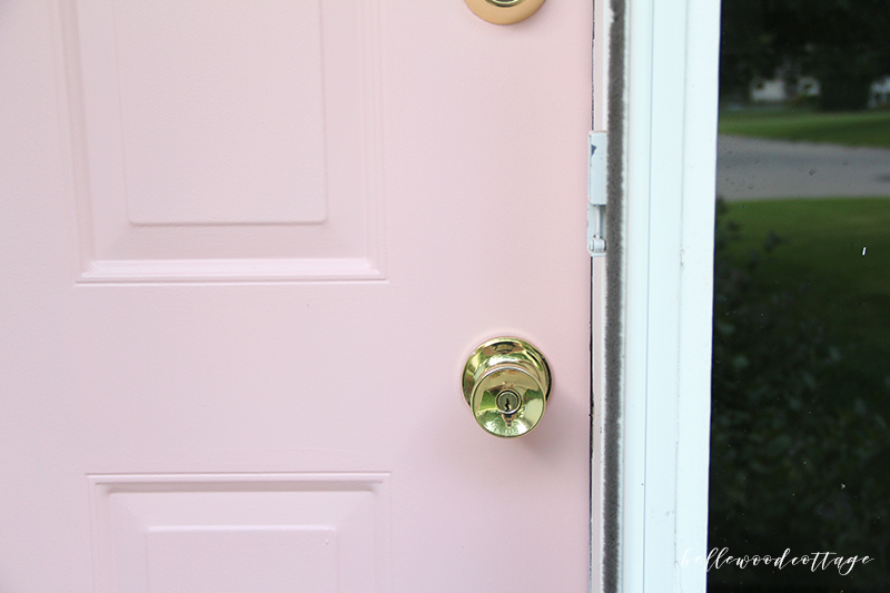 Sherwin Williams Bella Pink