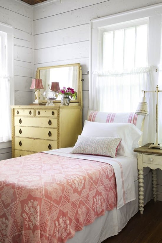 Get inspired to create a cottage style bedroom getaway with these tips, examples, and a curated shopping list from Bellewood Cottage