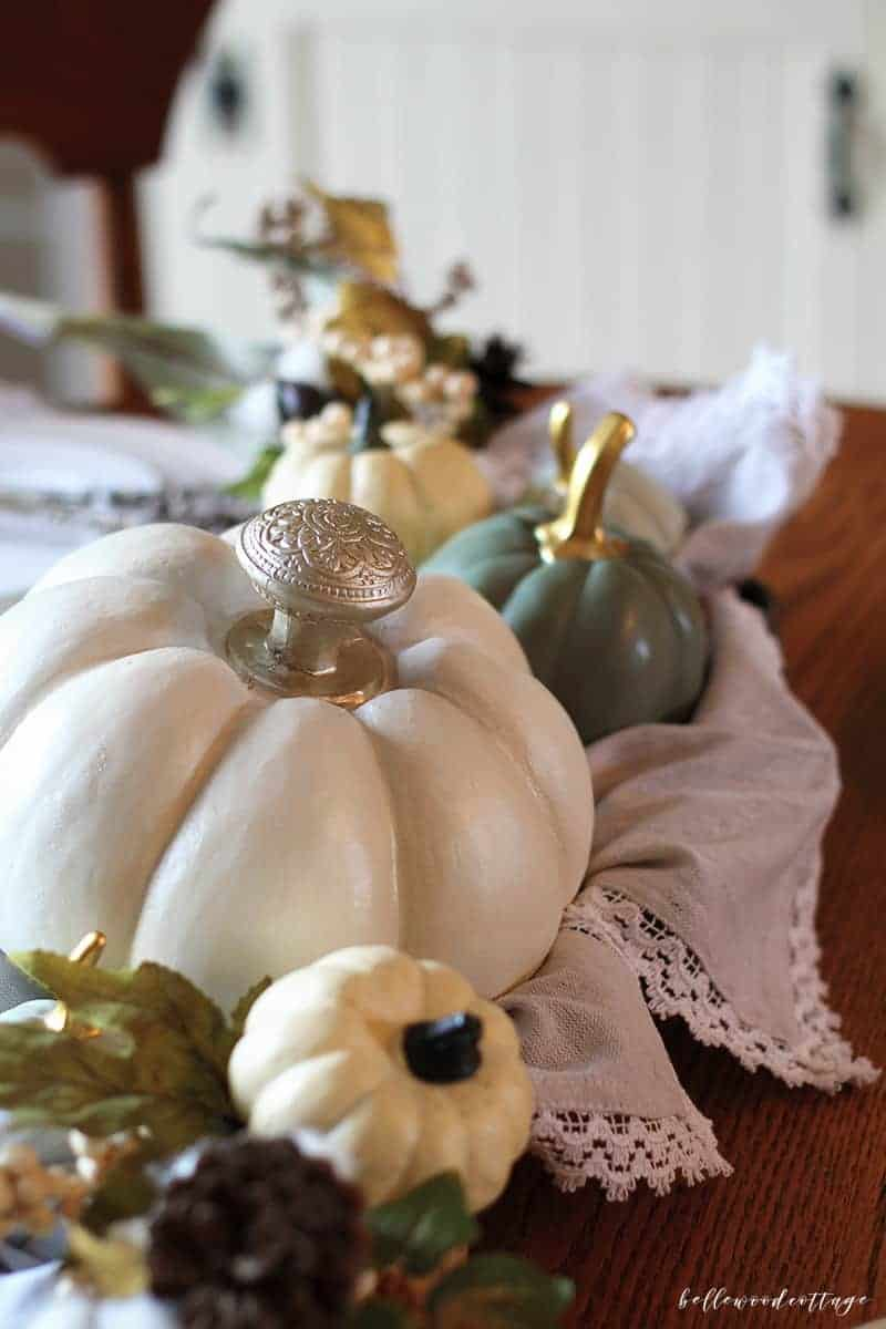 Fall Table Centerpiece from Bellewood Cottage