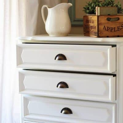 French Country Dresser – Before and After