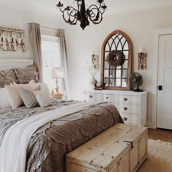 Beau French Country Bedroom Inspiration