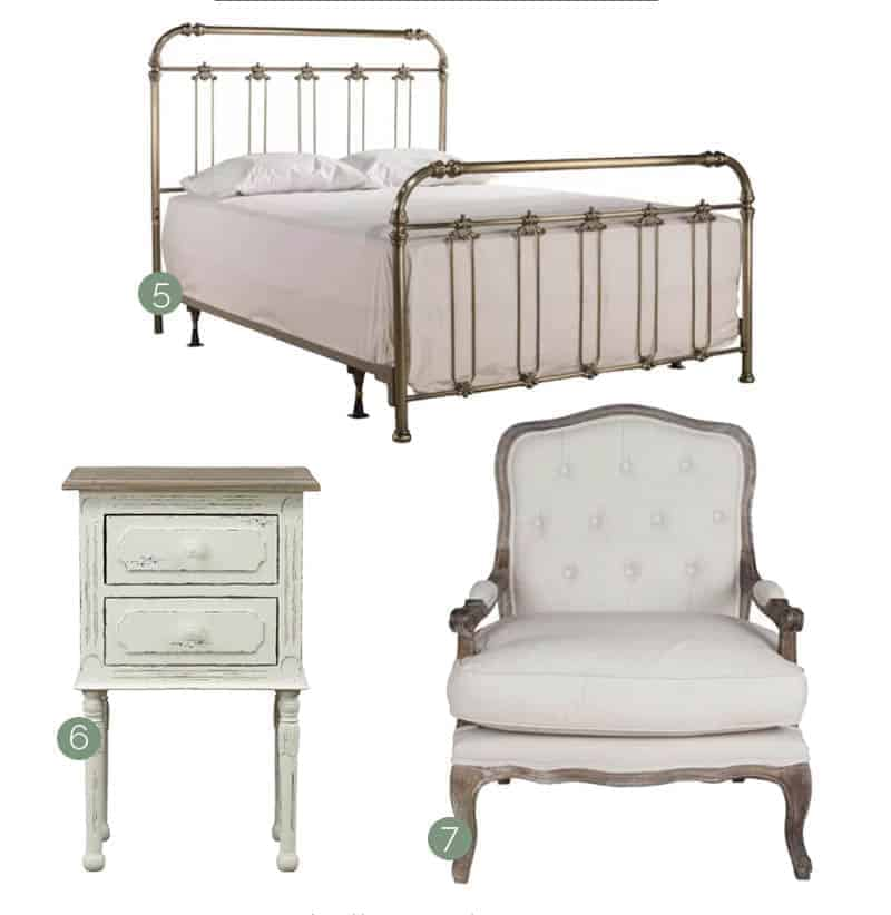 French Country Bedroom Inspiration