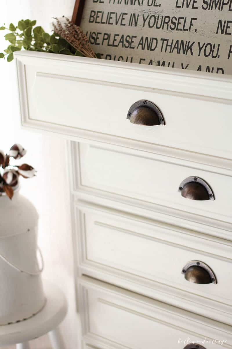 Adding a dresser to your main living area is a great way to add storage and character. Visit my blog to learn a few quick tips on how to style a dresser. From Bellewood Cottage