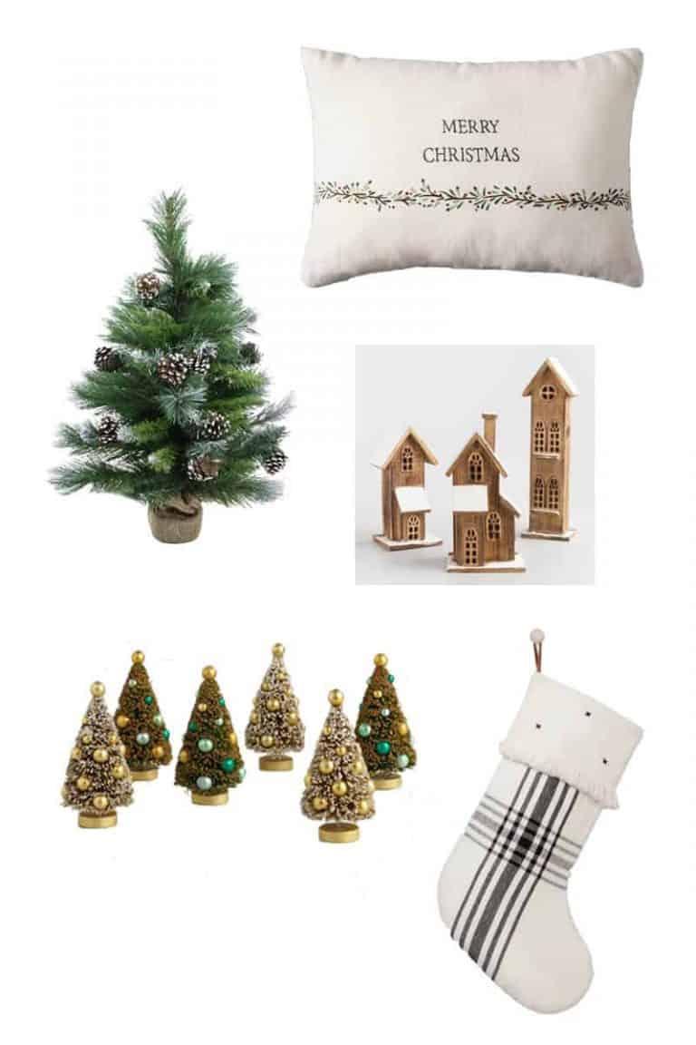 Budget Friendly Christmas Decor $30 or Less