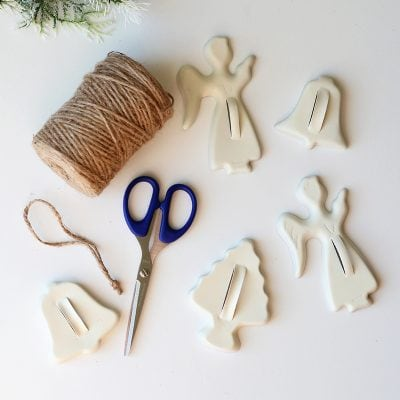 DIY Christmas Ornaments with Vintage Cookie Cutters