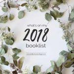 My 2018 Booklist