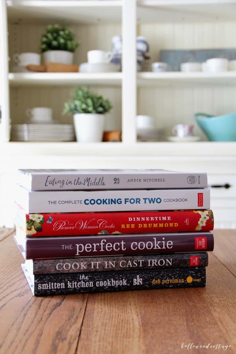 We all want quick & easy recipes for mealtimes, right? But cluttering our bookshelves with cookbooks galore isn't always the most effective way of getting dinner on the table. Join me as I share my top 5 cookbooks worth buying that will actually make your life easier (and more delicious). From BellewoodCottage.com