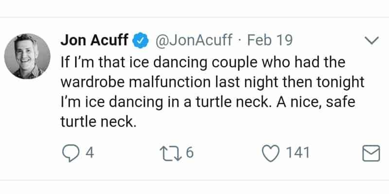 Jon Acuff Twitter post