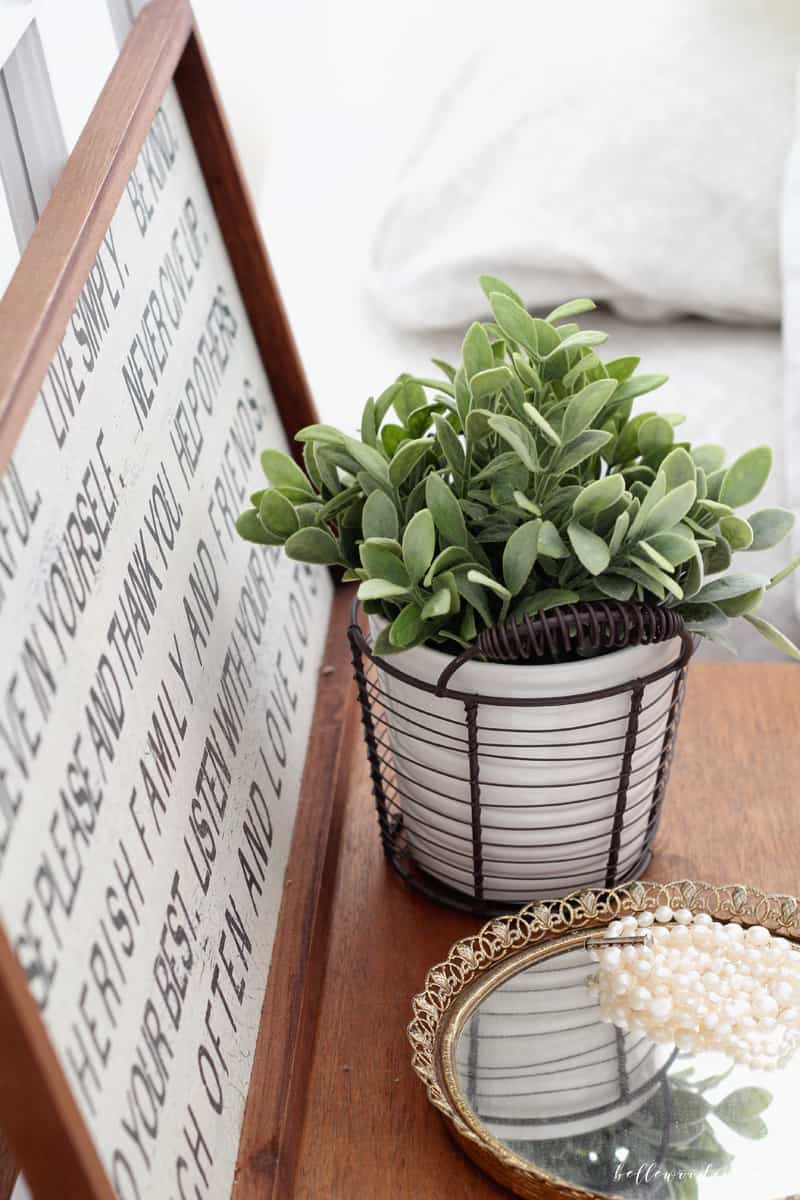 It's so fun to decorate along with the changing seasons, but it can get pricey too. Learn my best tip for finding inexpensive spring decor that will refresh your home without busting the budget. From BellewoodCottage.com
