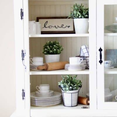 It's so fun to decorate along with the changing seasons, but it can get pricey too. Learn my best tip for finding inexpensive spring decor that will refresh your home without busting the budget. BellewoodCottage.com