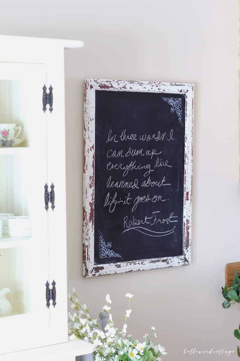 How to Turn a Mirror Into a Chalkboard
