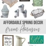 Affordable Spring Home Decor on Amazon