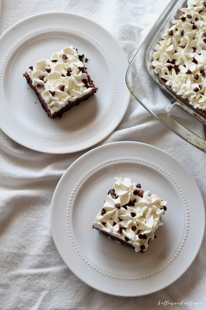 """Everyone loves a classic French Silk Pie, but that's not to say it couldn't be improved on. Like that whole raw egg thing? I think we can do better. Check out my recipe for an egg-free French Silk Pie that will not only be a MAJOR crowd-pleaser, but will feed them too (because 9"""" pies are so yesterday)."""