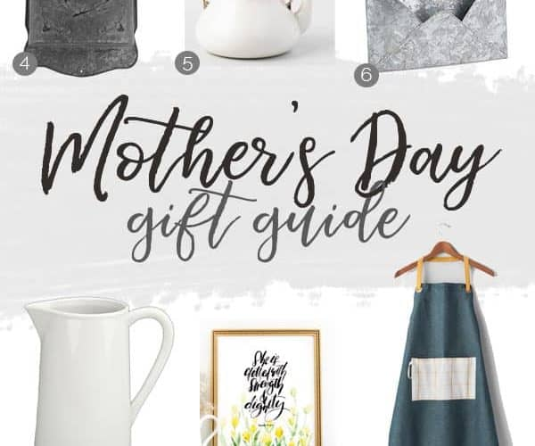Start shopping for Mother's Day with my Mother's Day gift guide, featuring winning cookbooks, gorgeous farmhouse decor, and handmade goodies from Etsy. You'll love these handpicked gift ideas!