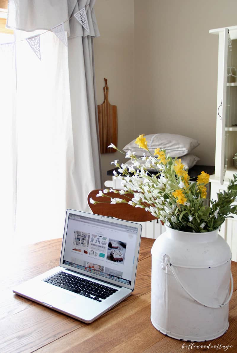 Everyone wants to know how to grow their blog, right? In this post, I'm sharing all I've learned from my first year blogging on BellewoodCottage.com. Join the conversation as I share 11 things I learned from my first year blogging, including what social media platform you MUST be on to succeed as a blogger.