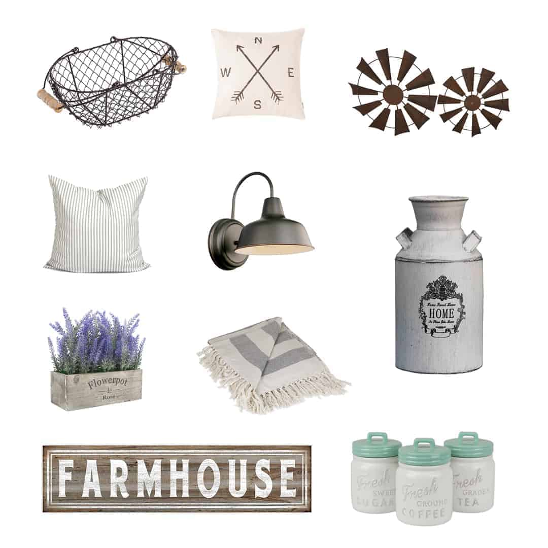 Farmhouse Decor From Amazon Under $30