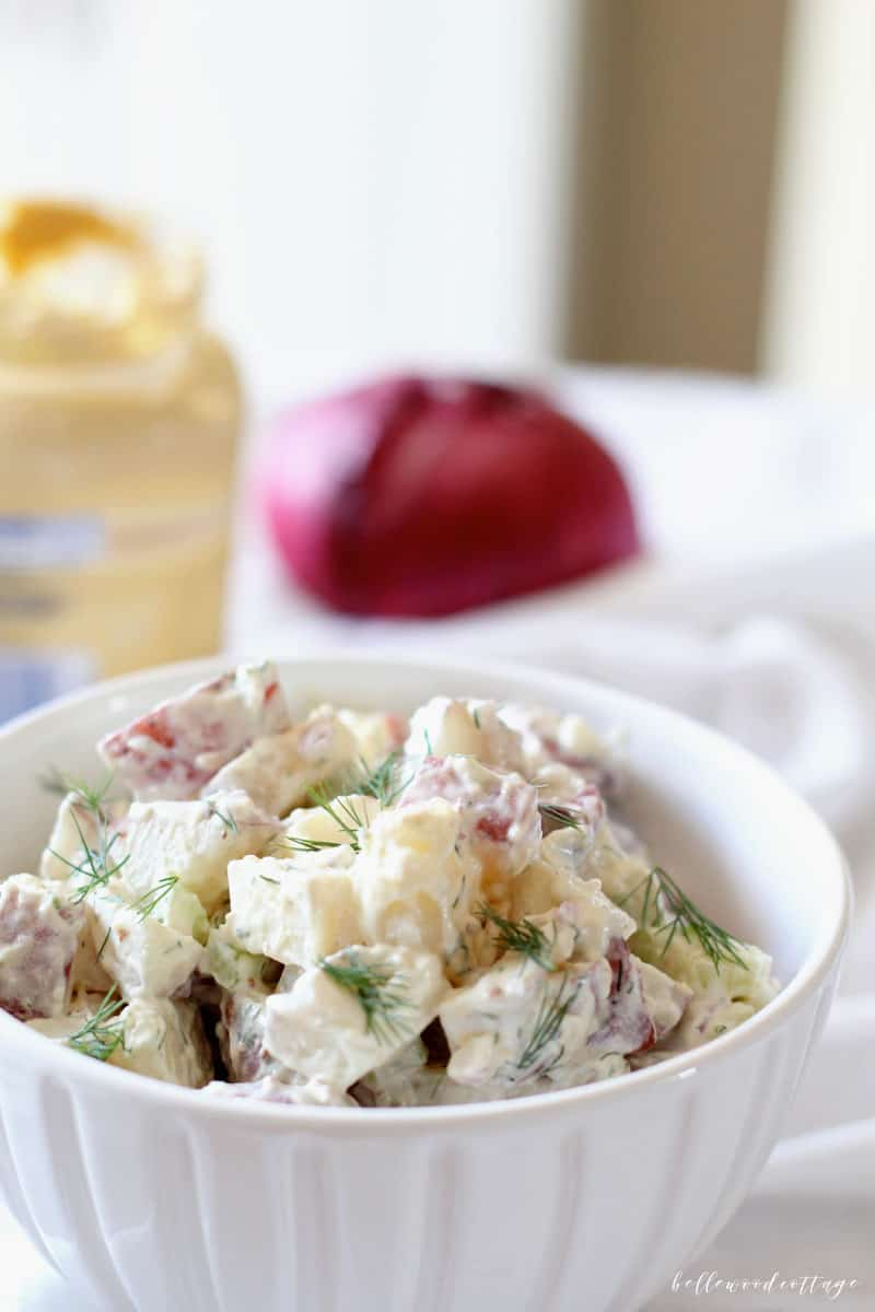 Ina Garten\'s Old-Fashioned Potato Salad - Bellewood Cottage