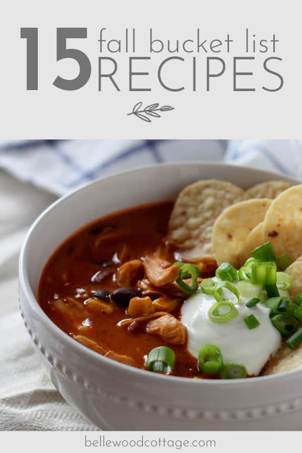Load up your autumn bucket list with these delicious fall recipes, including my family's tried-and-true favorites and the new recipes on MY fall bucket list.