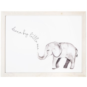 elephant wall decor from Hobby Lobby