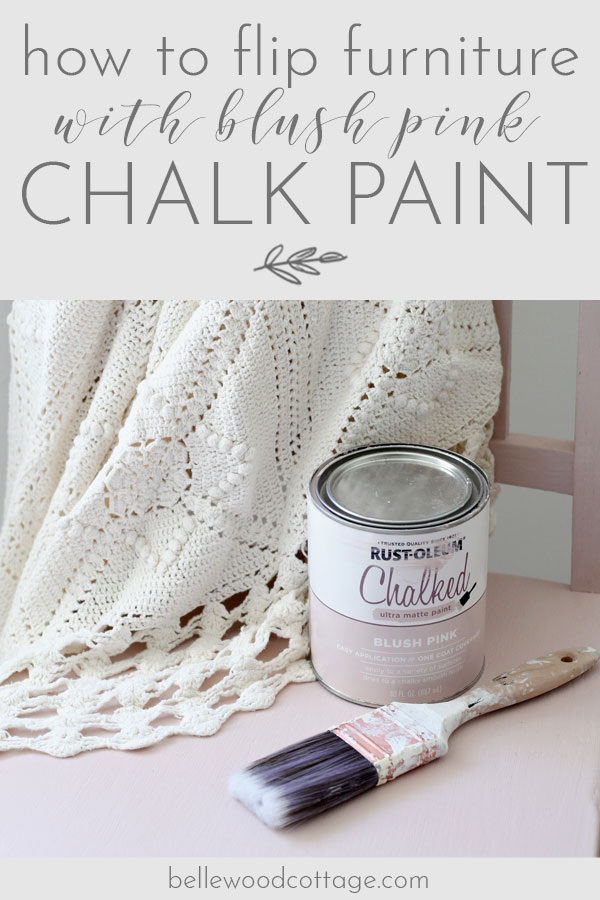 Learn how to flip furniture with pink chalk paint! I'm sharing the supplies I use, helpful techniques, and my latest before-and-after.