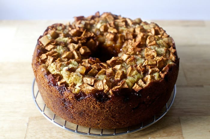 apple cake from Smitten Kitchen