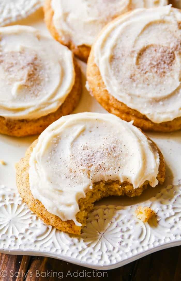 chai spice cookies from Sallys Baking Addiction