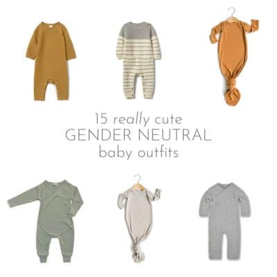 Really Cute Gender Neutral Baby Clothes
