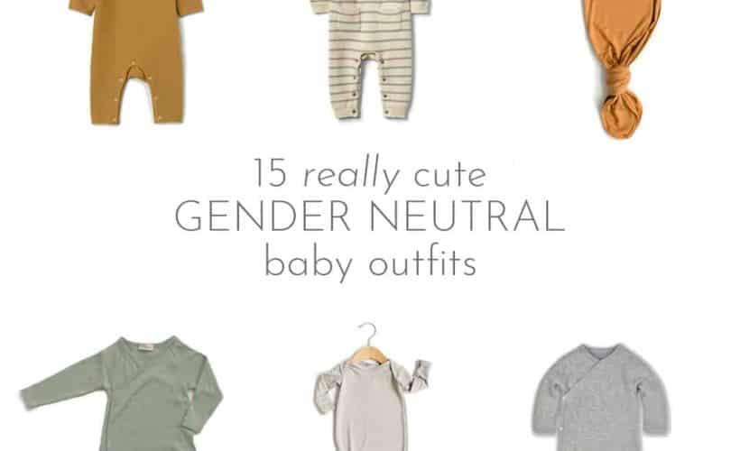 Didn't find out baby's gender? Not sure where to buy cute clothes? I'm here to help with a round up of REALLY cute gender neutral baby clothes. Come shop with me!