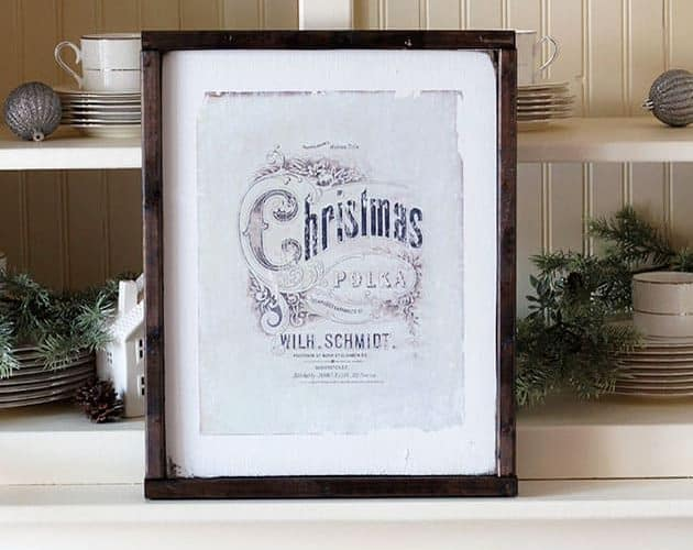 Christmas Wall Art from Bellewood Cottage