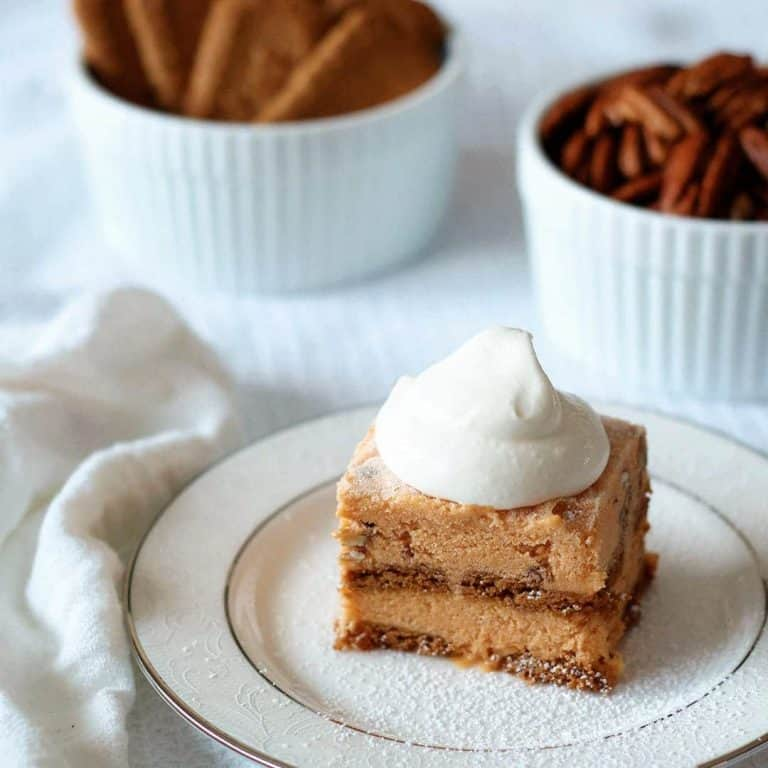 Pumpkin Ice Cream Dessert