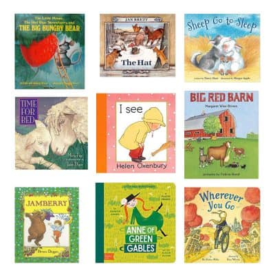 Selection of Baby Board Books.