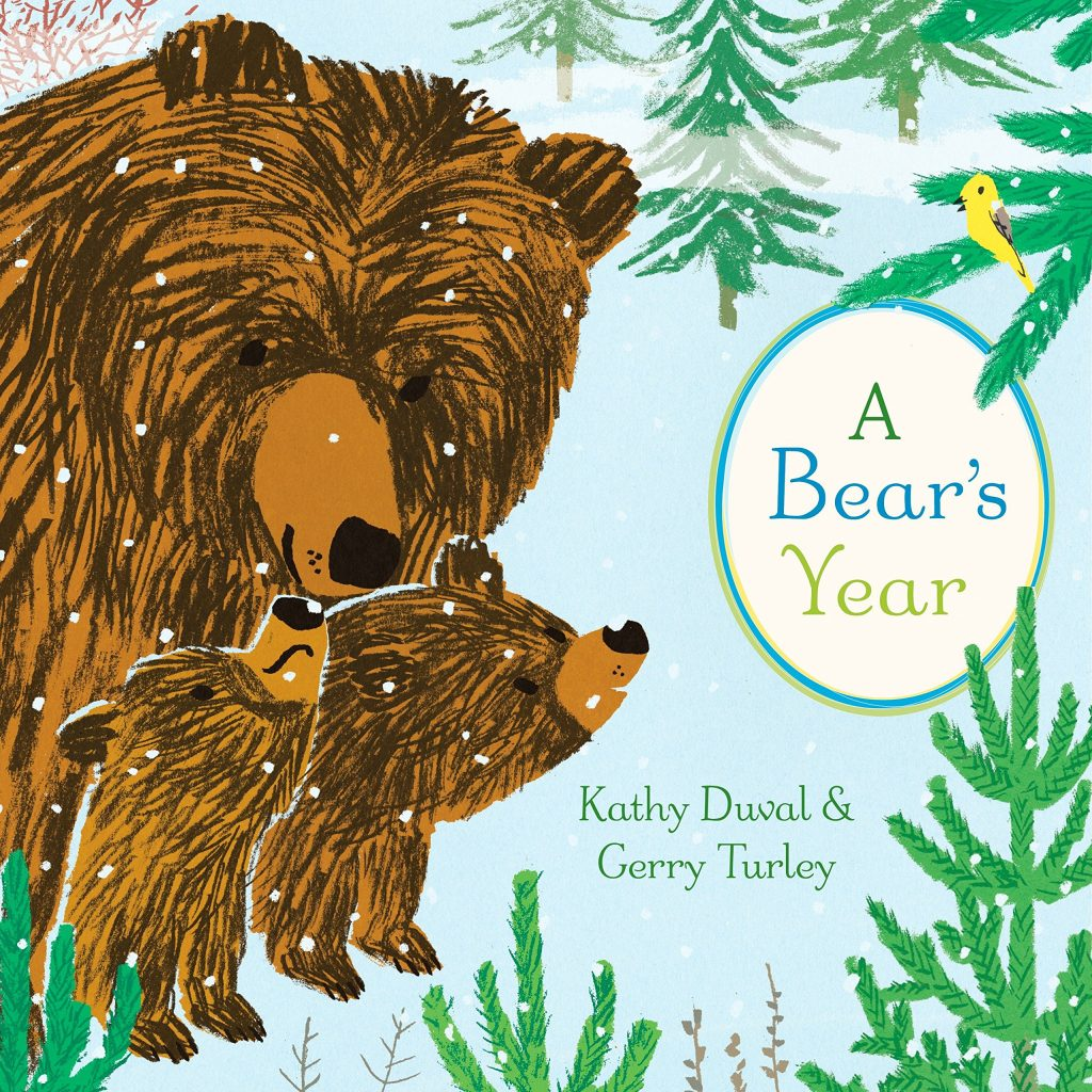 Book cover of A Bear's Year.